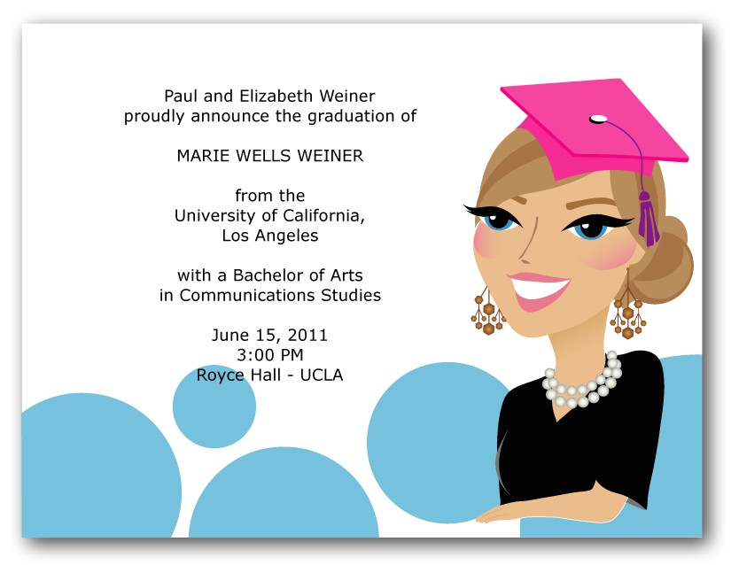 cheap graduation party invitations for people sample