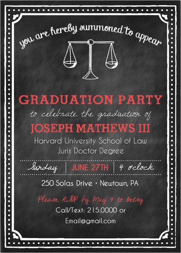 sample graduation invitations