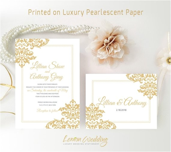 cheap wedding invitation kits printed