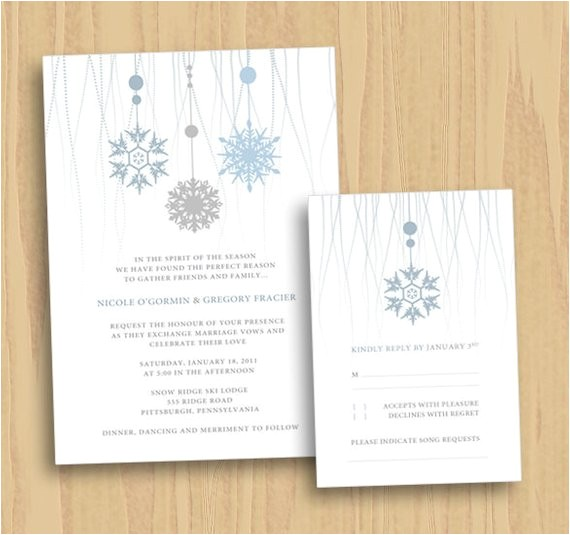 custom wedding invitation save the date