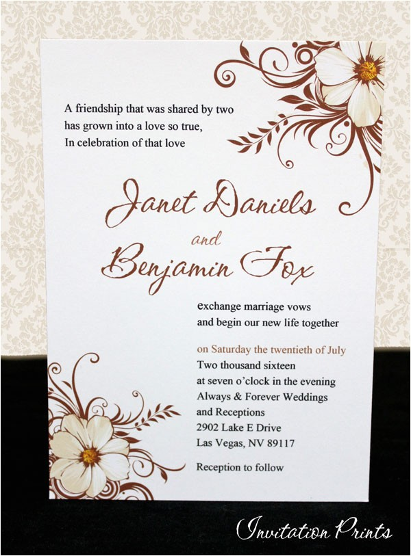 Cheap Wedding Invitations Ebay Affordable Customized Wedding Invitations Flower Panel