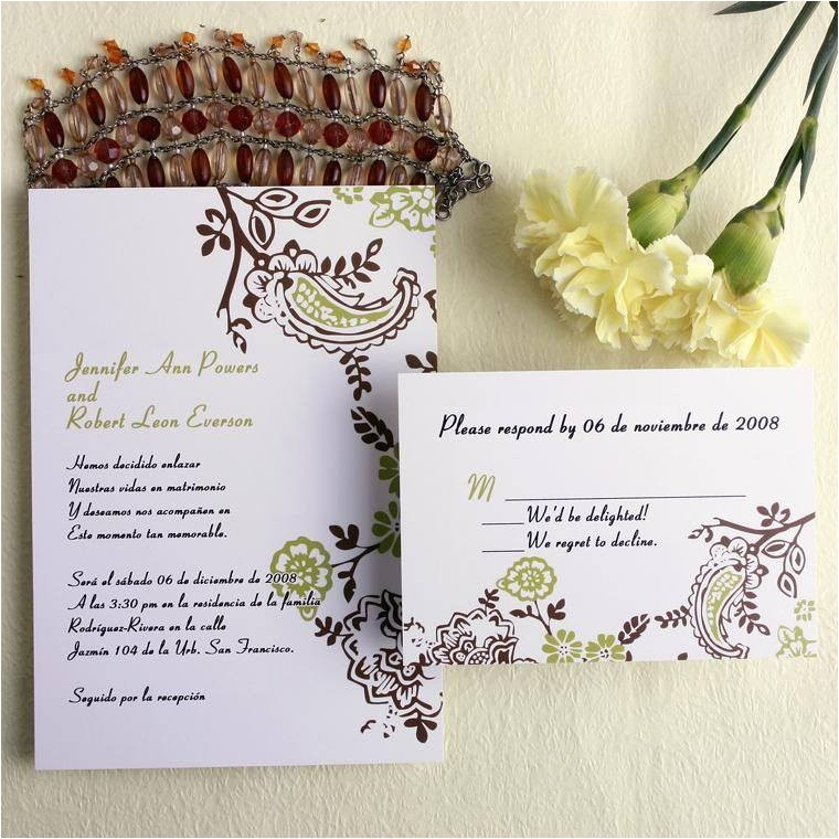 cheap wedding invitations and response cards