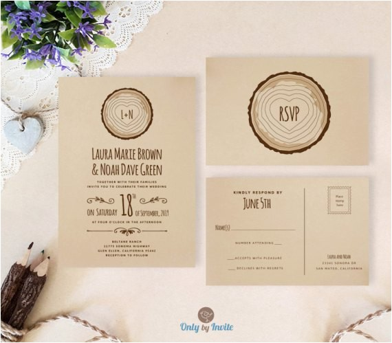 Cheap Wedding Invites with Response Cards Cheap Wedding Invitations with Rsvp Under 2 or Less