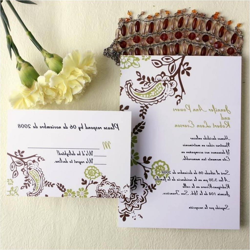 cheap wedding invites with response cards cheap wedding invitations free response card amp printed envelops 4