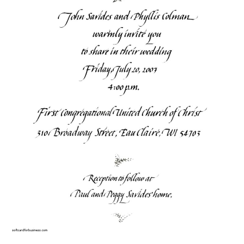sample wedding invitations wordings bride and groom inviting