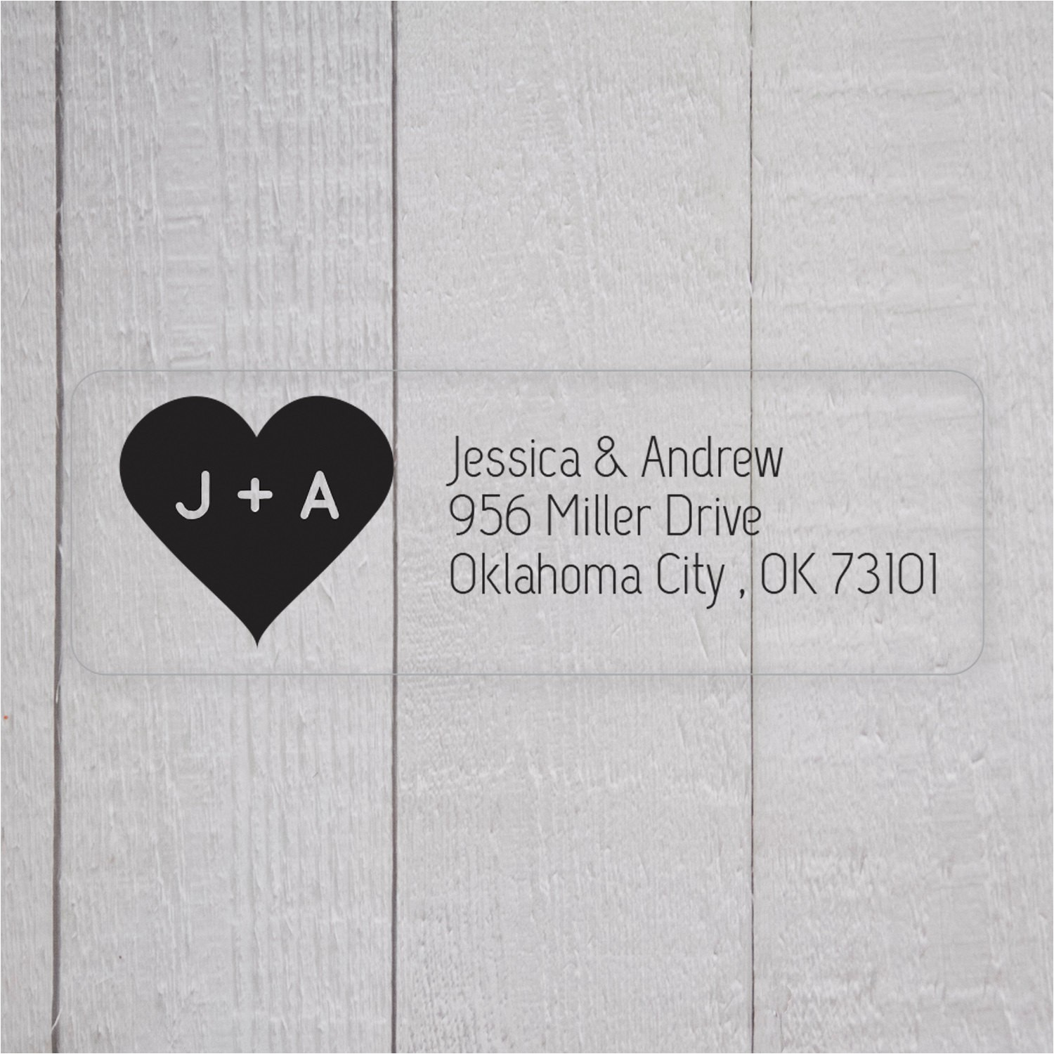 Clear Return Address Labels for Wedding Invitations Wedding Invitation Return Address Labels Clear by