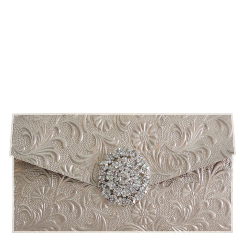 shop product details view detail embossed clutch invitation style with pocket 321