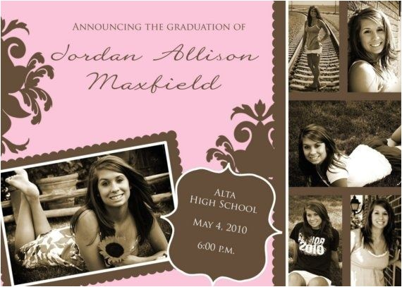 high school graduation announcements invitations