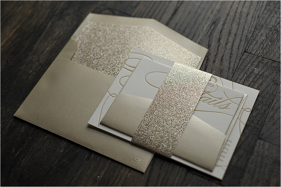 champagne colored wedding invitations