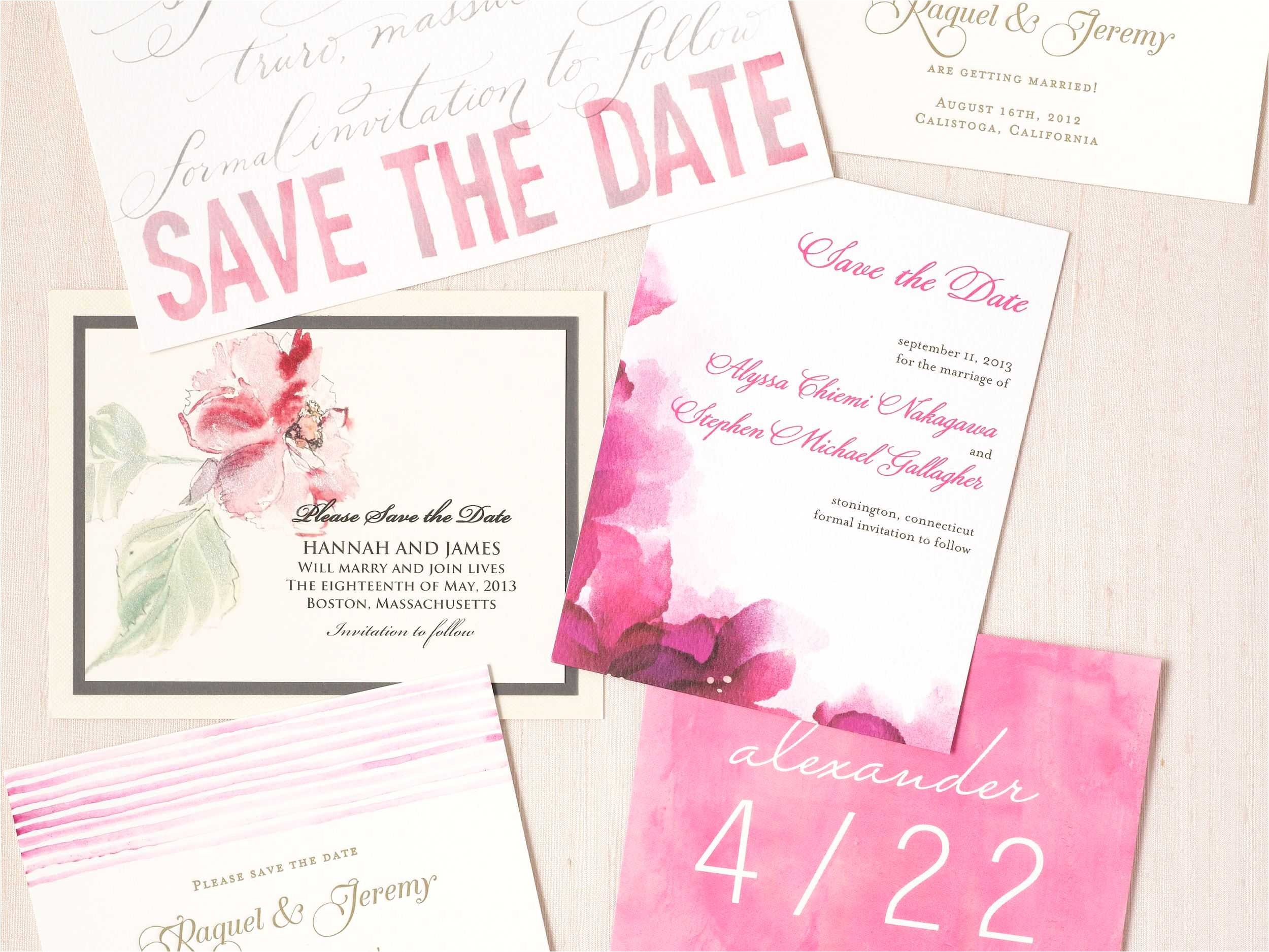 multi color wedding invitations new top wedding invitation tips