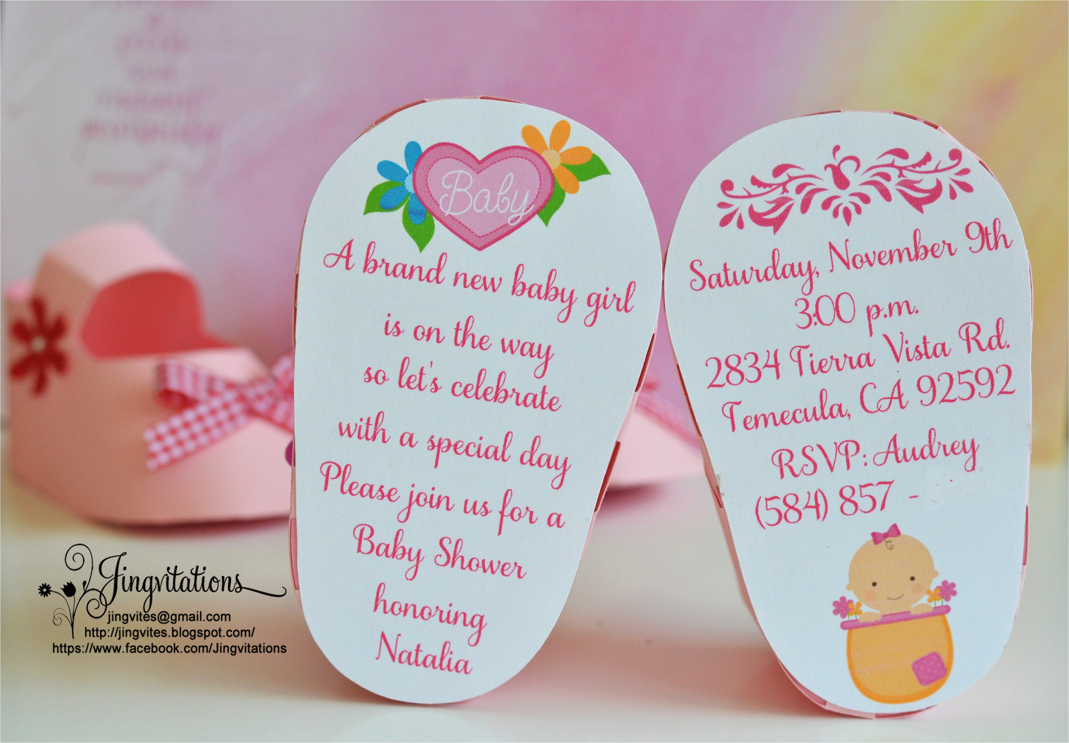3d invitations very unique baby shoe invites for baby shower