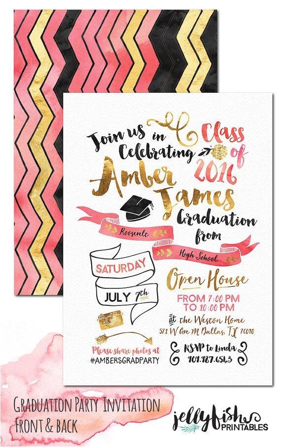 unique graduation invitations