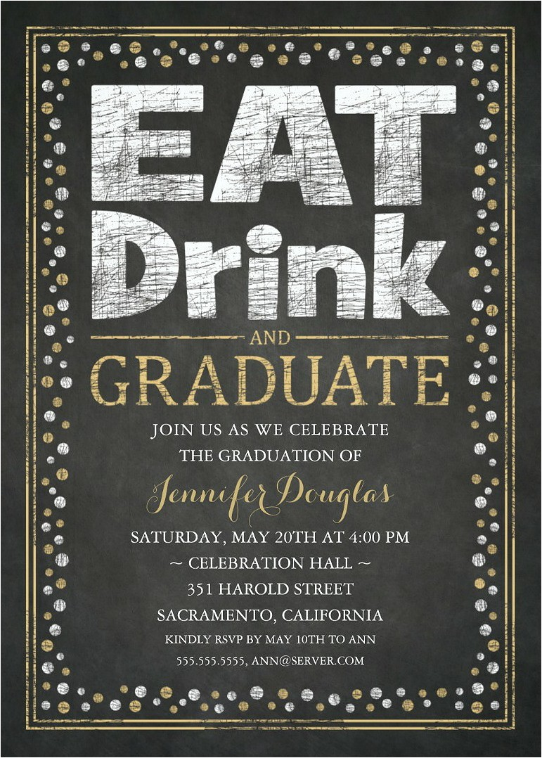 graduation party invitations unique grad party invitations