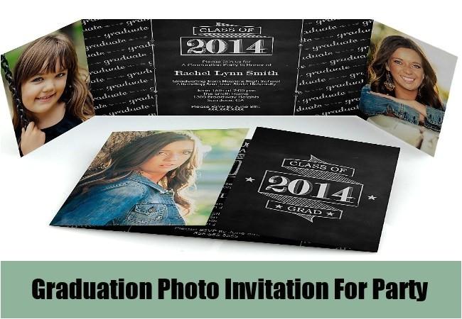 unique ideas for graduation party invitation