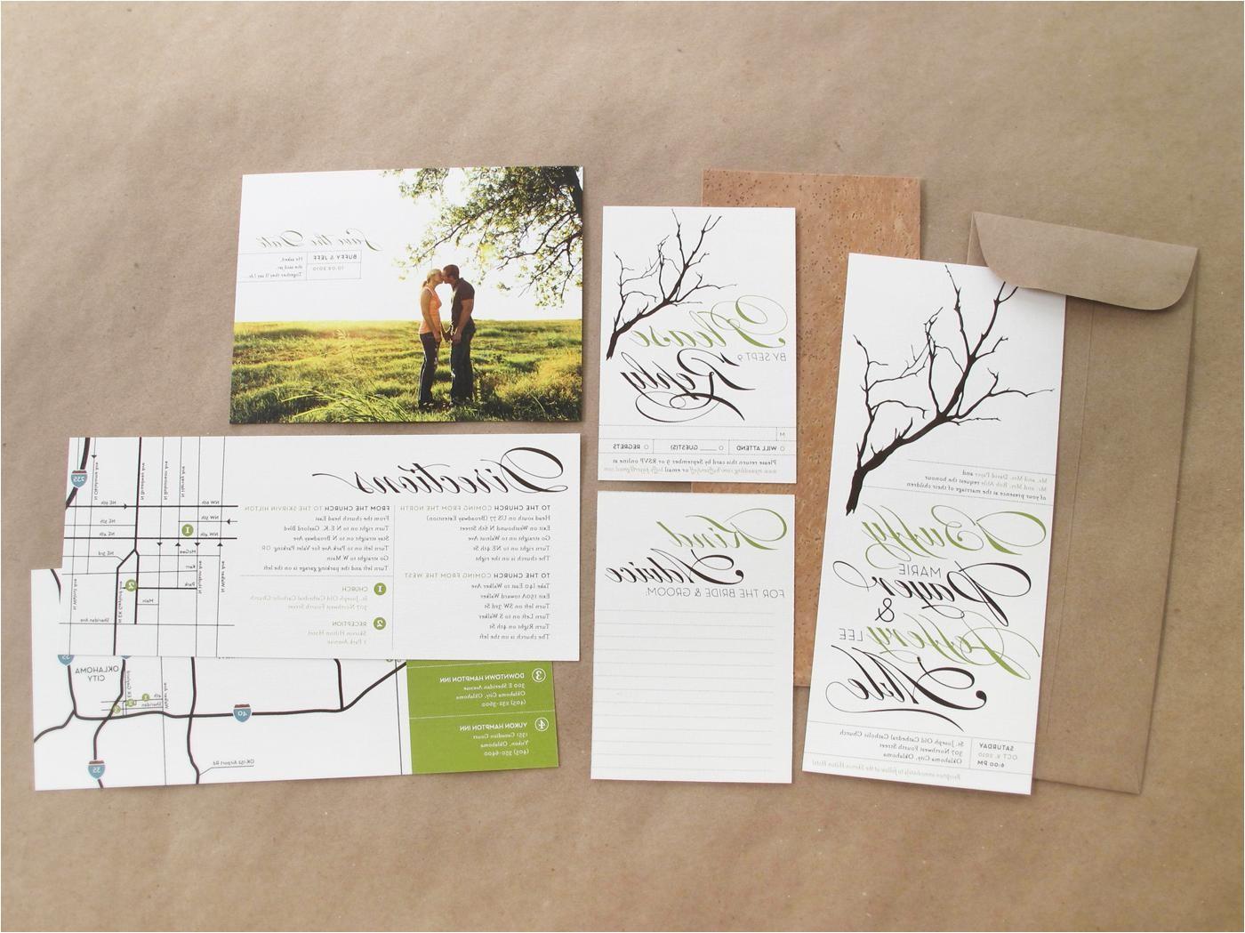 easy customization with diy wedding invitation kits