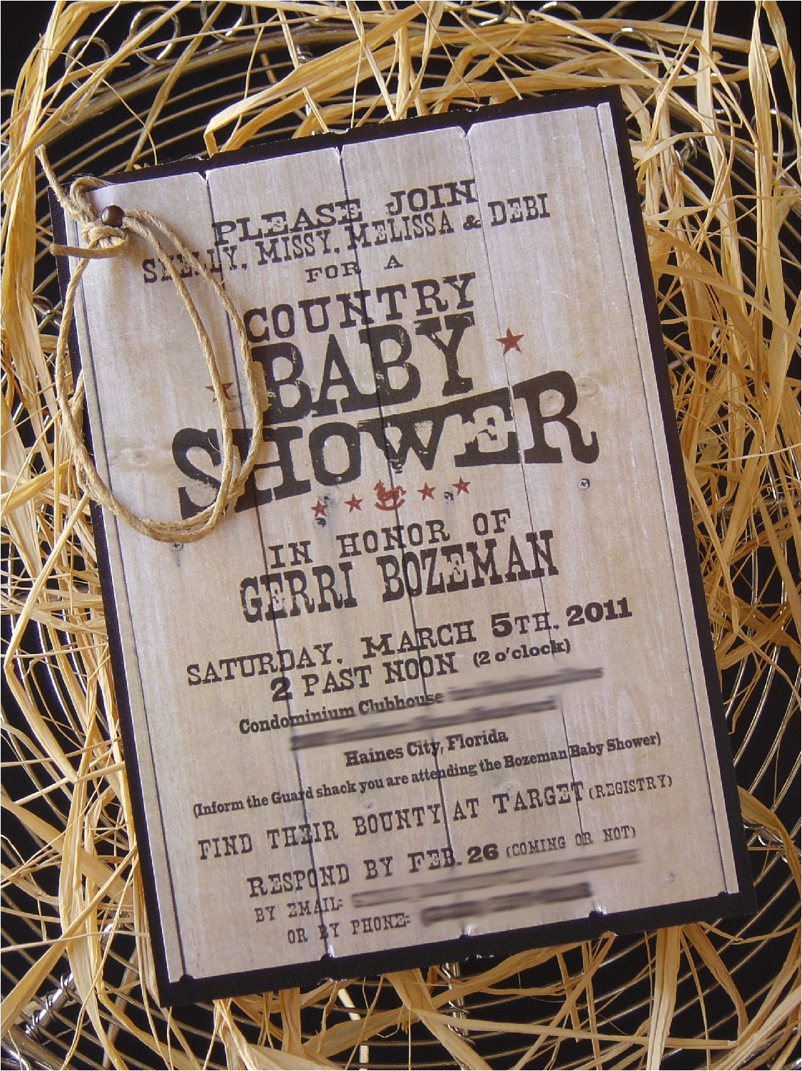 Country Baby Shower Invites Country Baby Shower Invitations Free Printable Baby