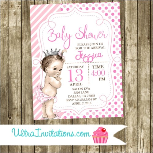 princess baby shower invitations 2016