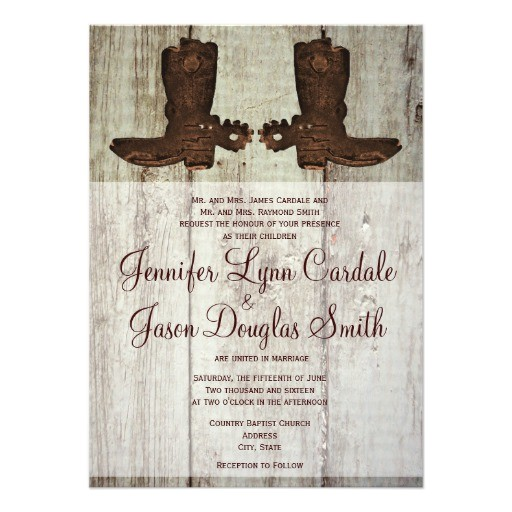 wedding invitations for country quotes