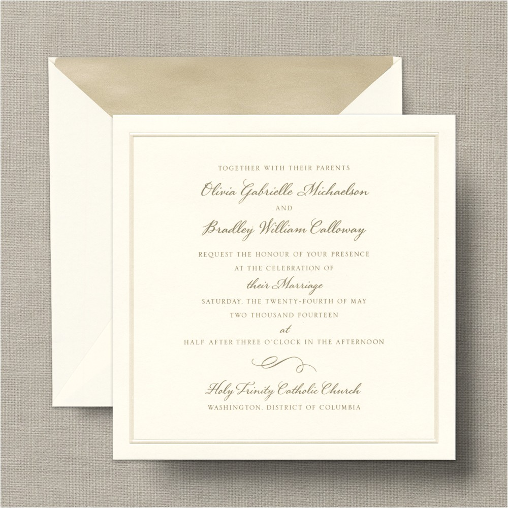 designs crane engraved wedding invitations with crane and