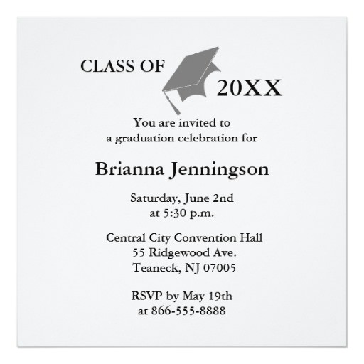 create your own graduation invitation 3 161809301875060050