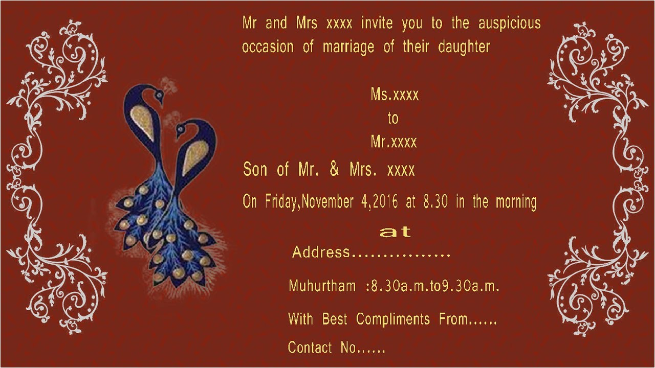 create wedding invitation card using photoshop beautiful how to design a wedding invitation card in photoshop in tamil