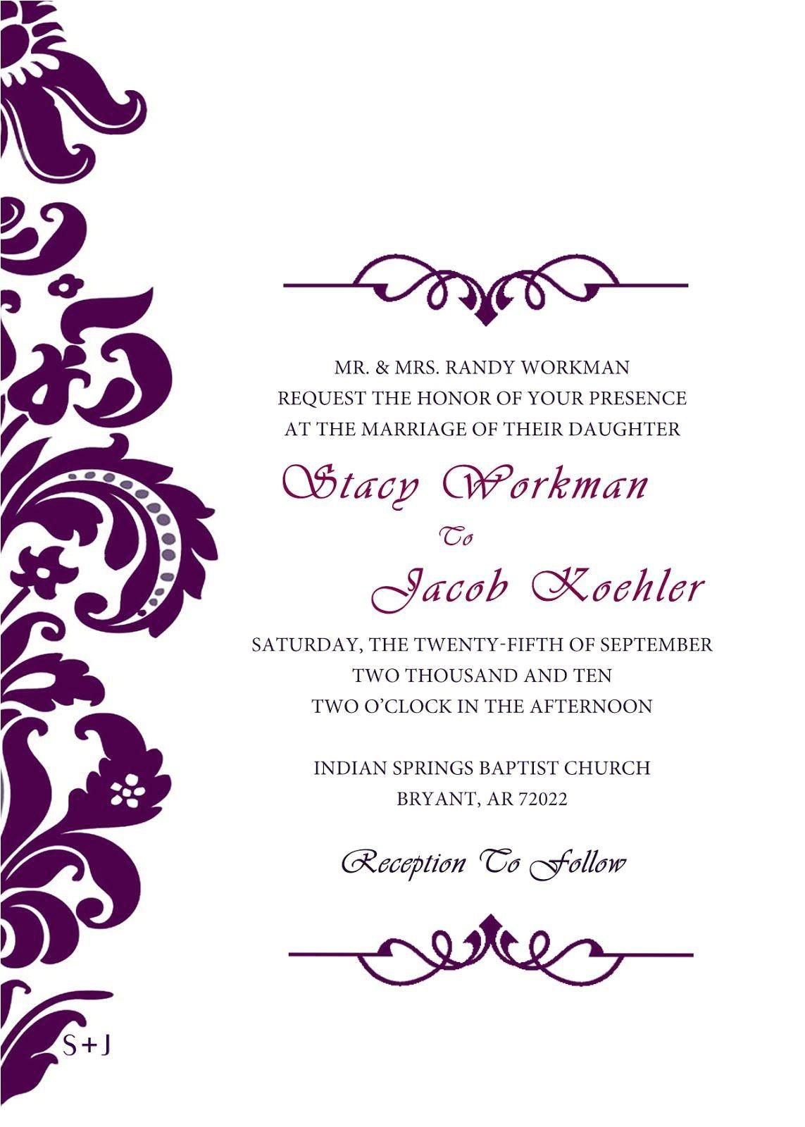 wedding invitation cards design online free