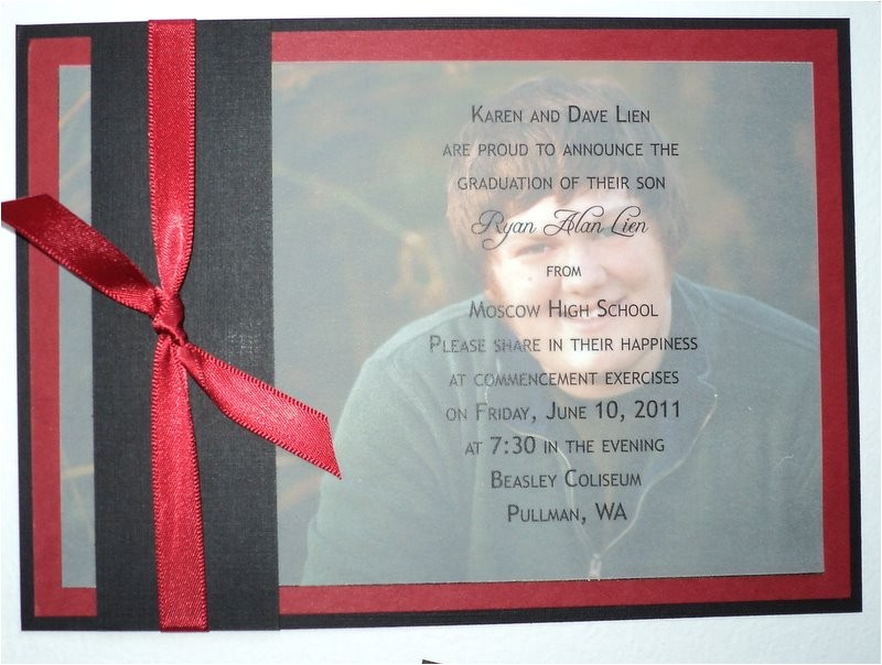 make your own graduation invitations