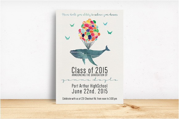 270583 graduation invitation