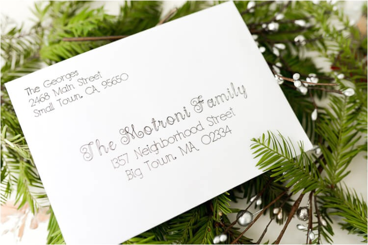 address christmas cards using your cricut explore hey lets