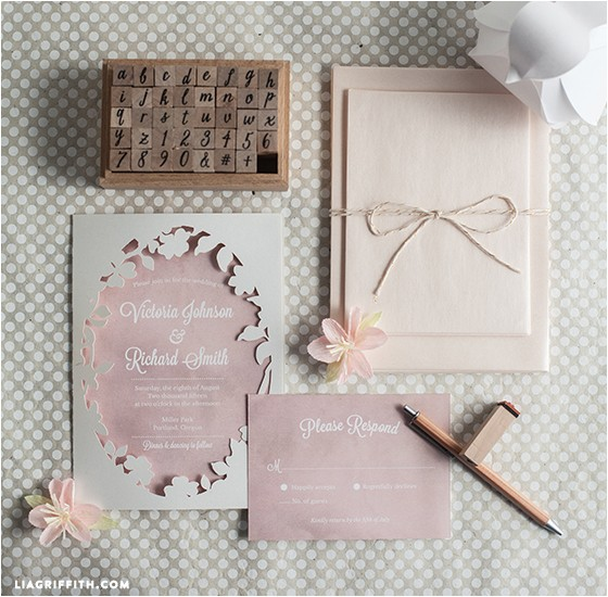 cricut explore wedding invitations