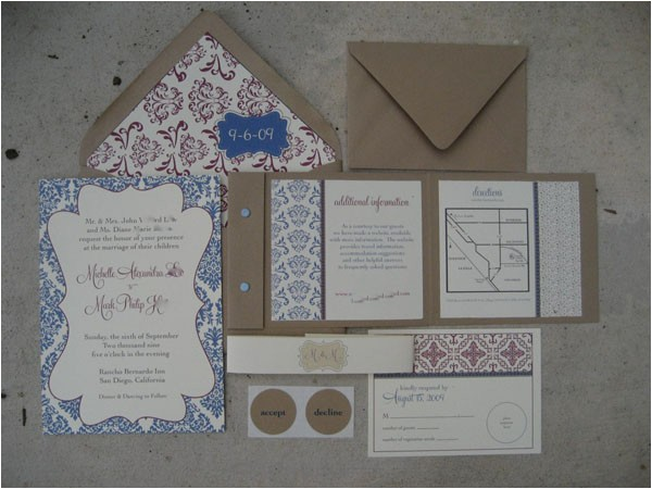 wedding invitation ideas using cricut