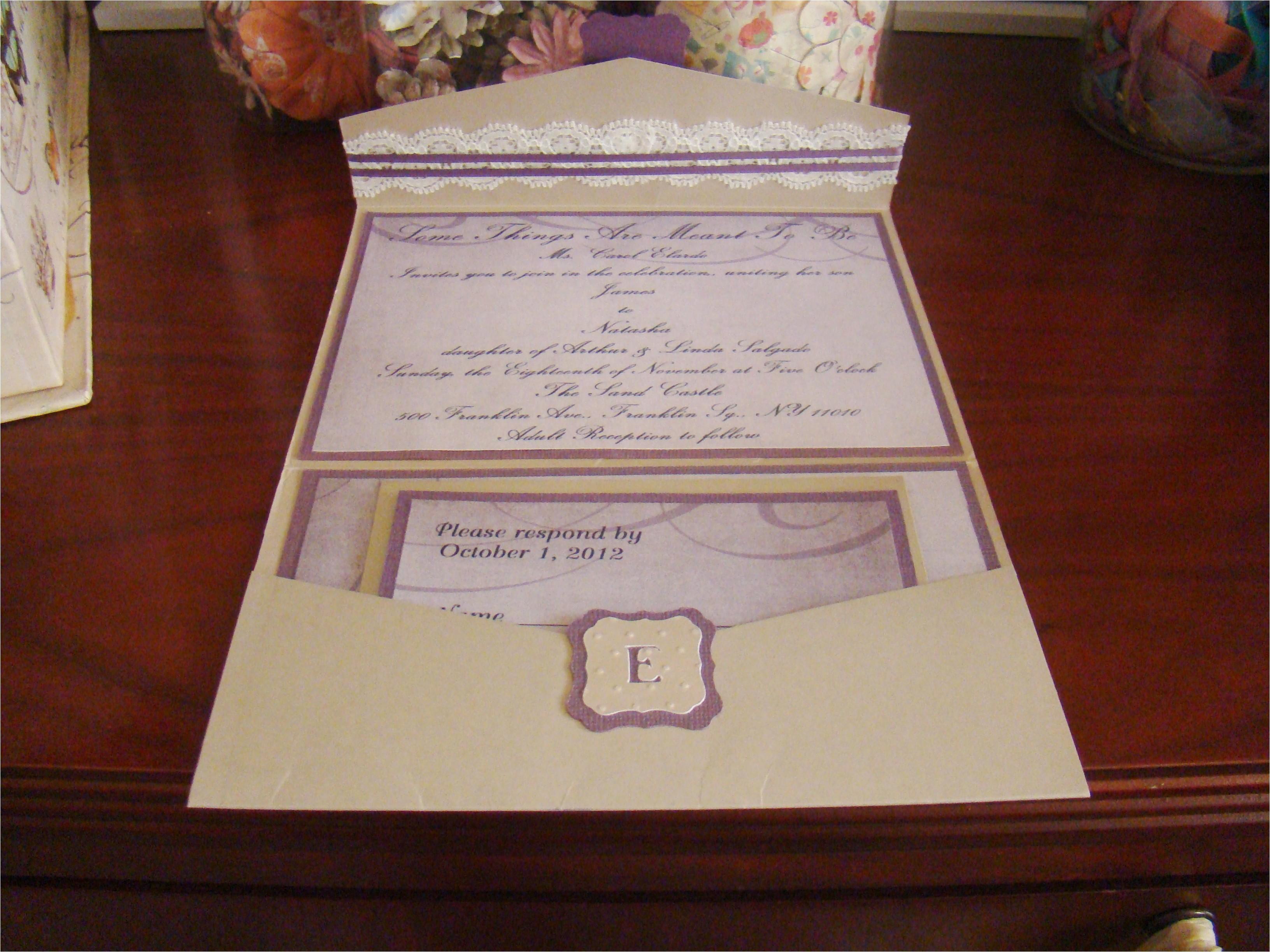 bridal shower invitations using cricut