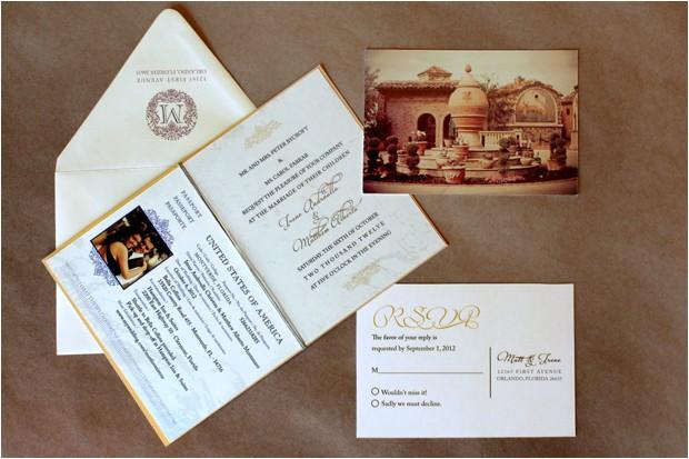 custom passport wedding invitations uk