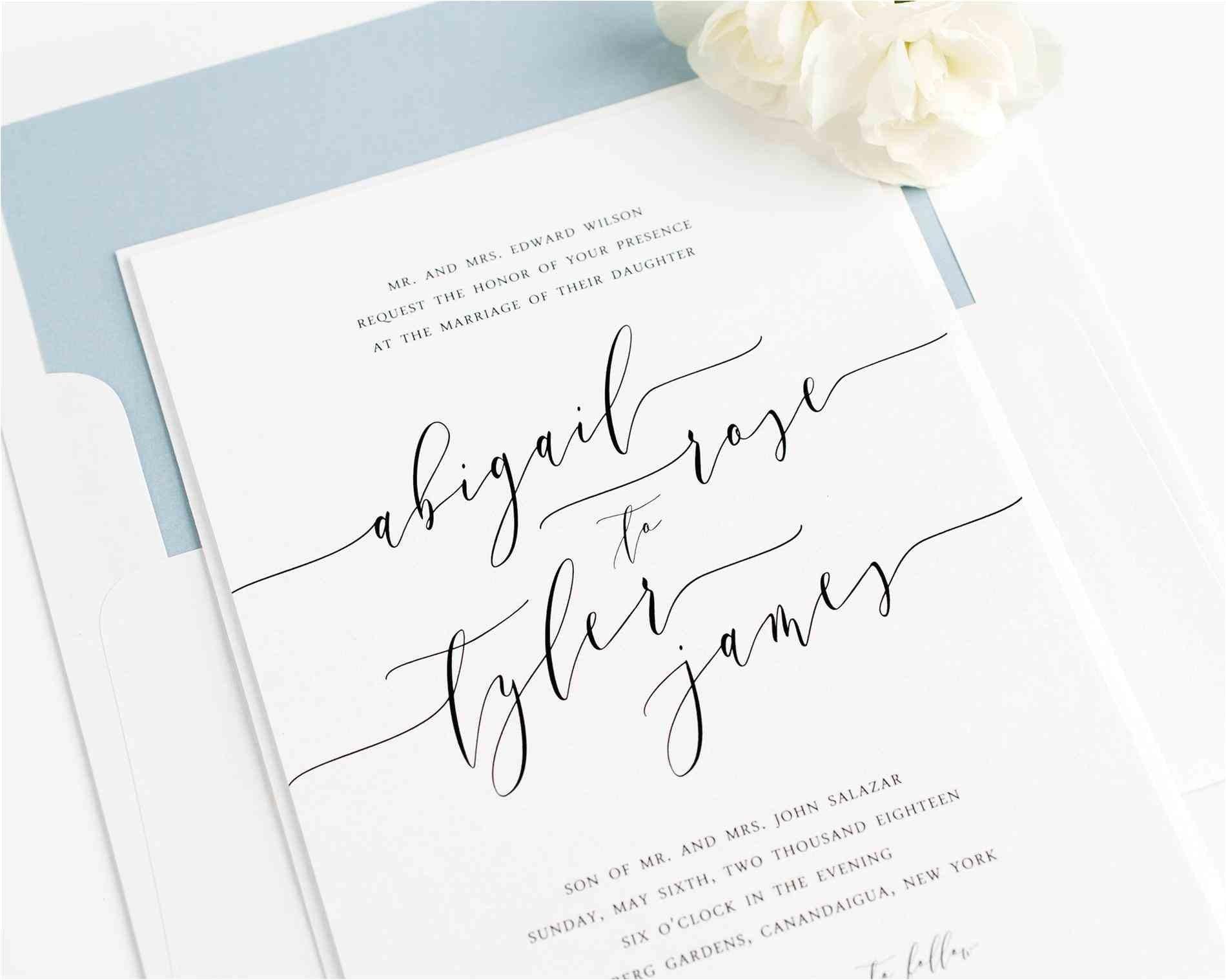 custom wedding invitations near me