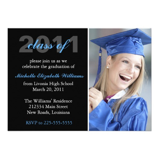 Customized Graduation Invitations for Free Graduation Custom Announcements Zazzle