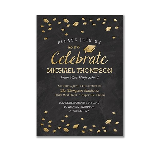Customized Graduation Party Invitations Personalized Celebrate Graduation Invitations Giftsforyounow