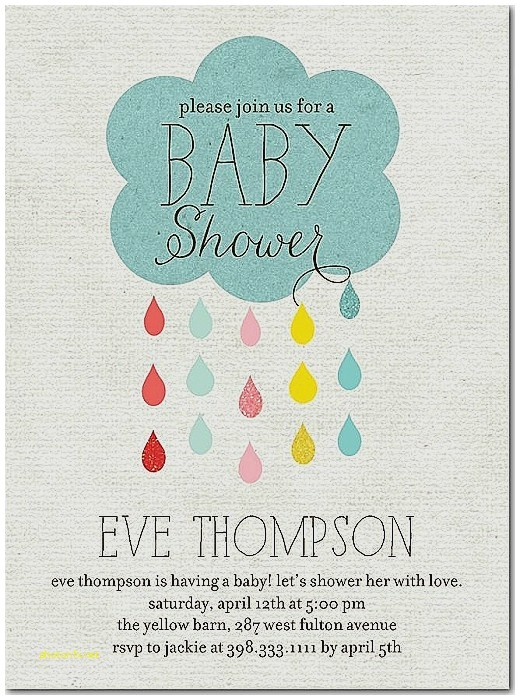 cute wording for baby shower invitation