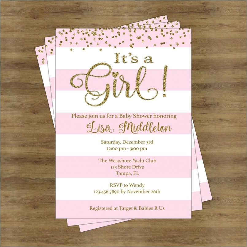 colors cute baby girl baby shower invitation wording plus girl