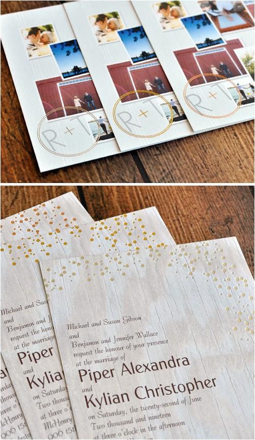 new david tutera wedding invitations 12744
