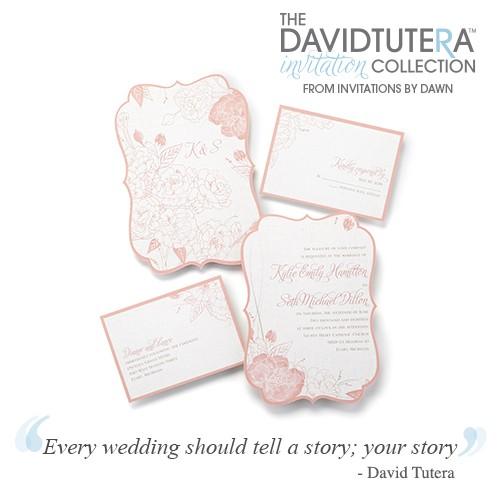 the david tutera invitation collection 11227