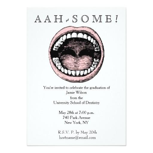 dental school graduation invitations 256853704859805741
