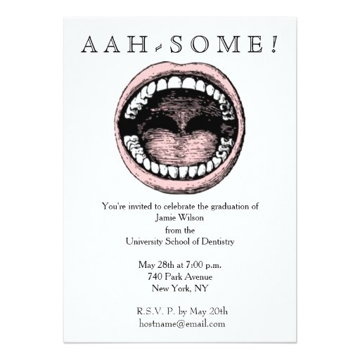 dental school graduation invitations 256853704859805741