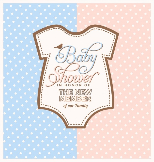 baby shower invitation design 1051020
