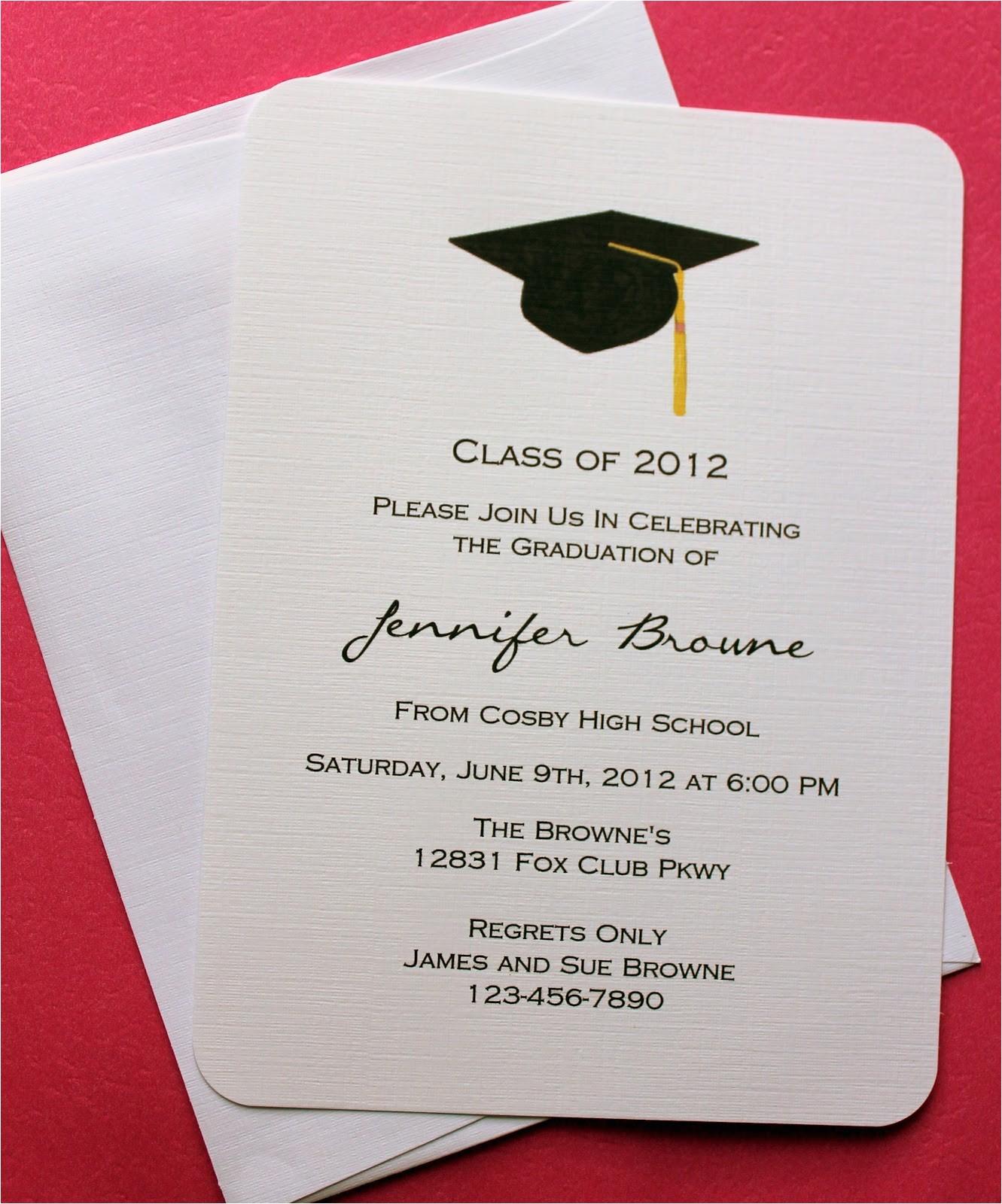 Design Graduation Invitations Online Free Graduation Invitation Template Invitation Templates