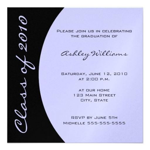 choose your own color graduation invitations 161568677594552862