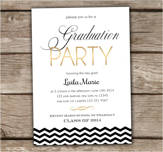 college graduation party invitation wording