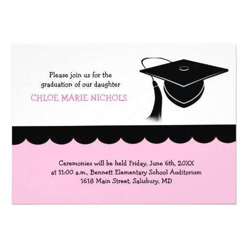 design your own grad invitations