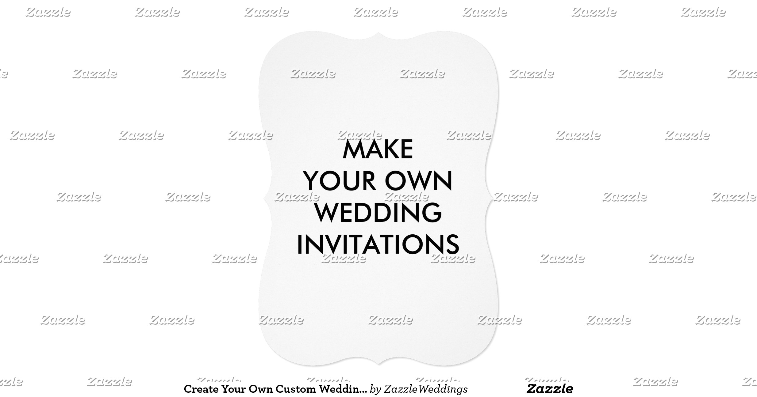 create your own custom wedding invitations 5 x 7 256206939328669080