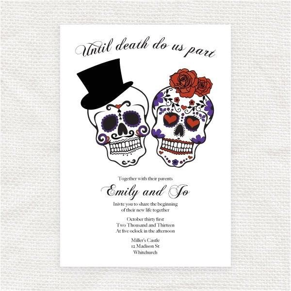 until death do us part wedding