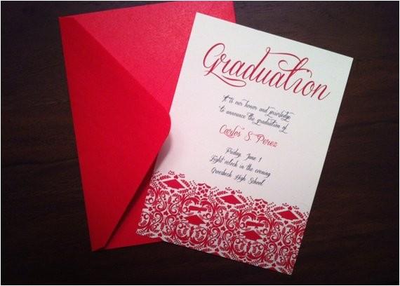 diy graduation invitationannouncement